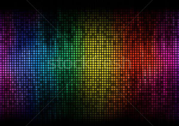 イコライザ デジタル 色 表示 レベル ディスコ ストックフォト © Anterovium
