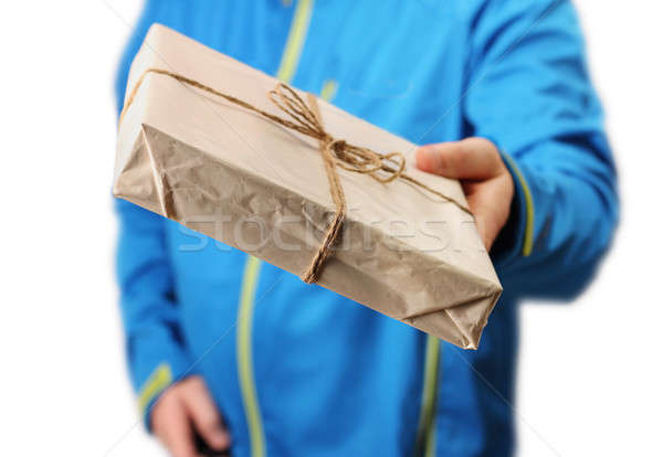 Mail package delivery  Stock photo © Anterovium