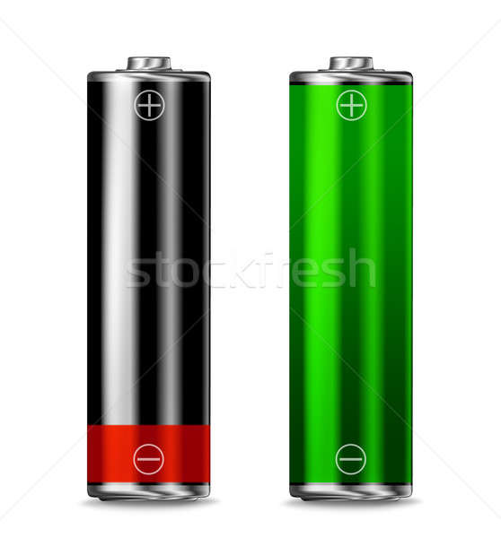 Low batt - full batt Stock photo © Anterovium