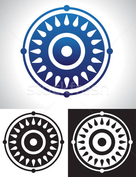 Mandala symboliek symbool abstract afbeelding ontwerp Stockfoto © antkevyv
