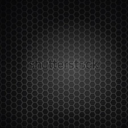 Metaal grill metaal textuur abstract illustratie achtergrond Stockfoto © antkevyv