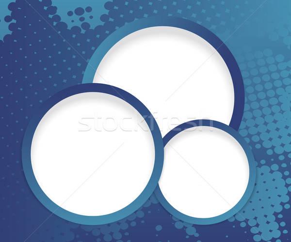 Web design przyciski ciemne półtonów Internetu streszczenie Zdjęcia stock © antkevyv