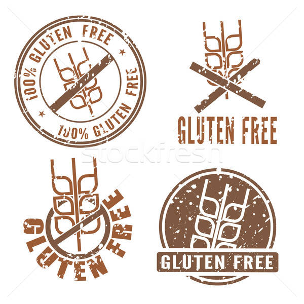 Gluten Free Stamps   Stock photo © antkevyv