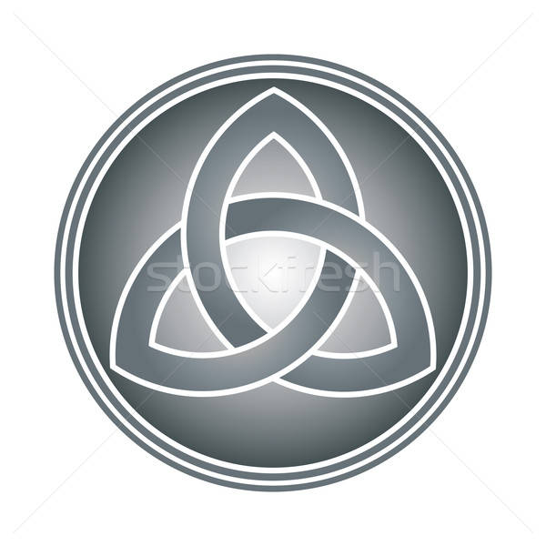 celtic trinity knot Stock photo © antkevyv