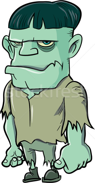 Cartoon Frankenstein Stock photo © antonbrand