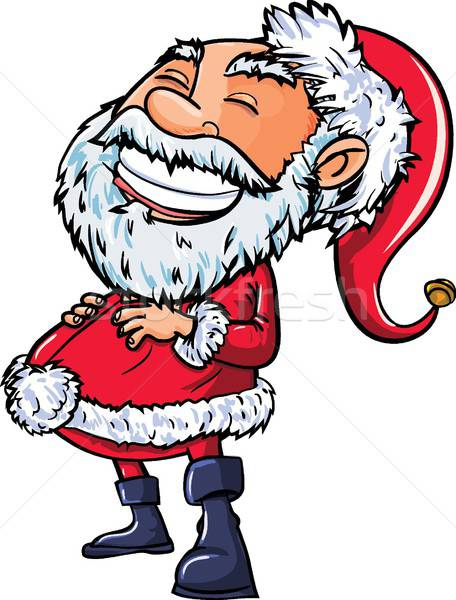 Santa with a big smile Stock photo © antonbrand