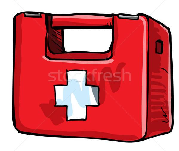 Illustration of medic kit. Stock photo © antonbrand