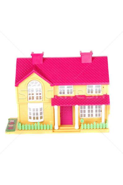 pink toy house  Stock photo © antonihalim