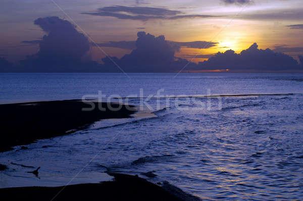 sunrise on the beach  Stock photo © antonihalim