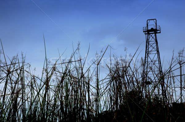 old oil tower Stock photo © antonihalim