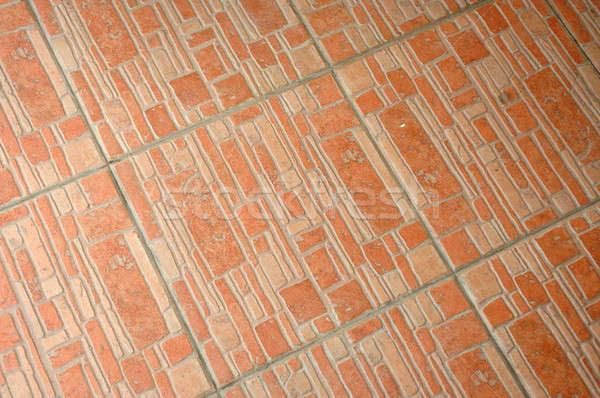 ストックフォト: セラミック · 階 · パターン · 家 · 壁 · 背景