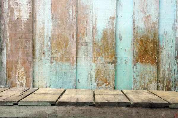 old wooden board Stock photo © antonihalim