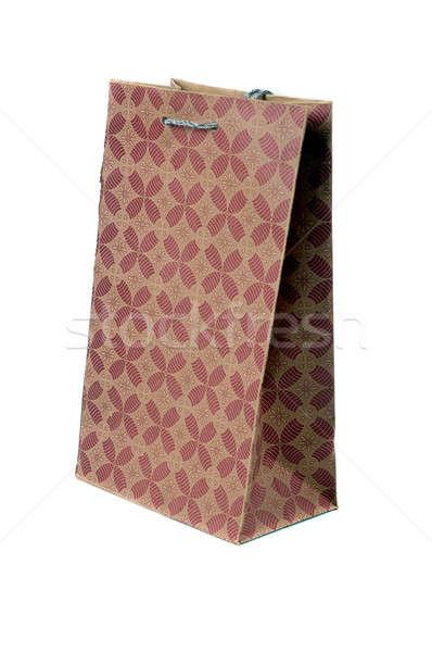 袋 孤立した 白 紙 パーティ ストックフォト © antonihalim