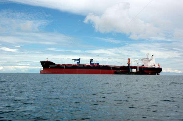 船 ビジネス 空 水 海 海 ストックフォト © antonihalim