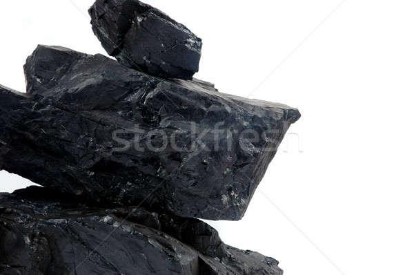 pile lumps of coals Stock photo © antonihalim