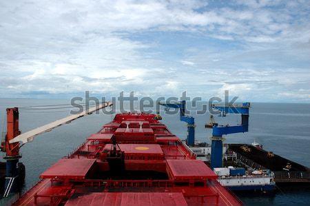 coal tanker Stock photo © antonihalim