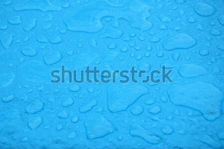 blue rain puddles  Stock photo © antonihalim