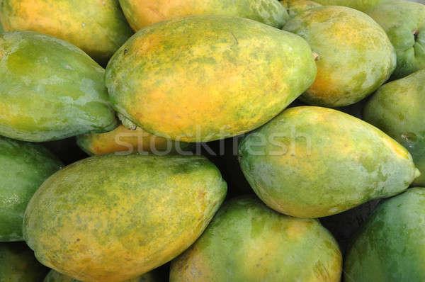 フルーツ 健康 背景 オレンジ 緑 ジュース ストックフォト © antonihalim