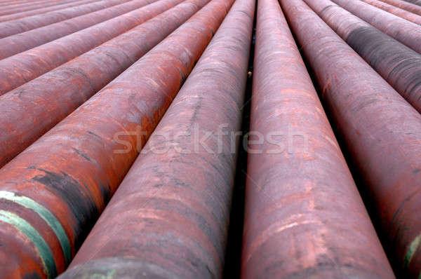 iron pipes Stock photo © antonihalim