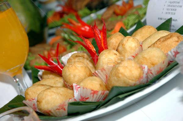 fried foods Stock photo © antonihalim