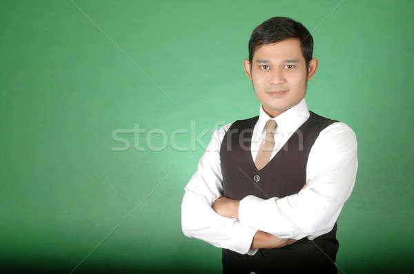portrait of asian young man  Stock photo © antonihalim