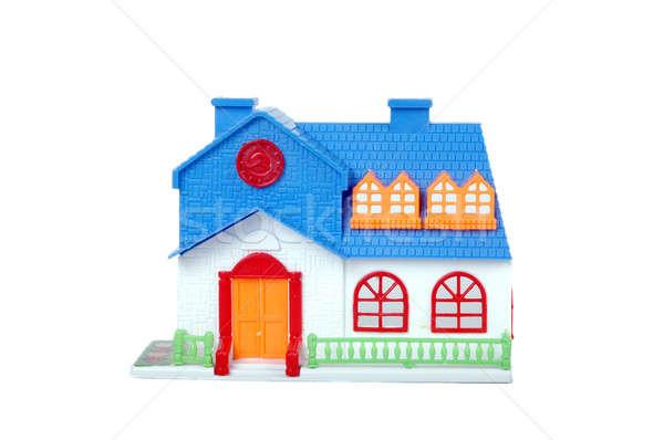 blue toy house  Stock photo © antonihalim