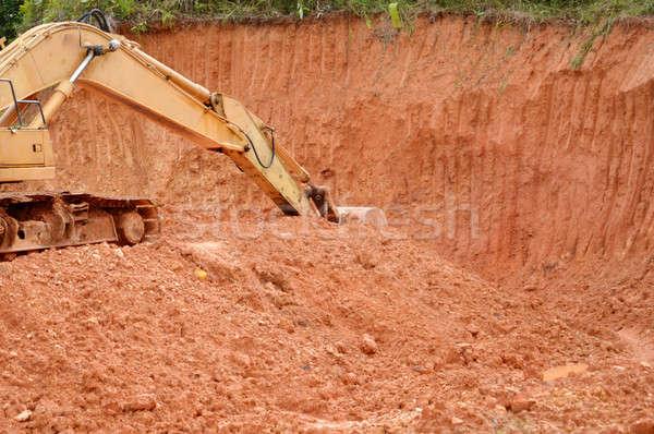 excavator  Stock photo © antonihalim
