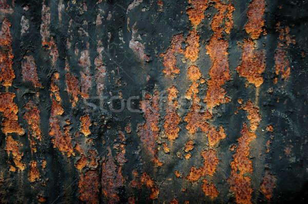 古い 金属 壁 詳細 表面 テクスチャ ストックフォト © antonihalim