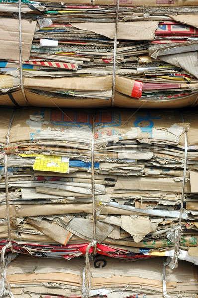 old cardboard boxes Stock photo © antonihalim