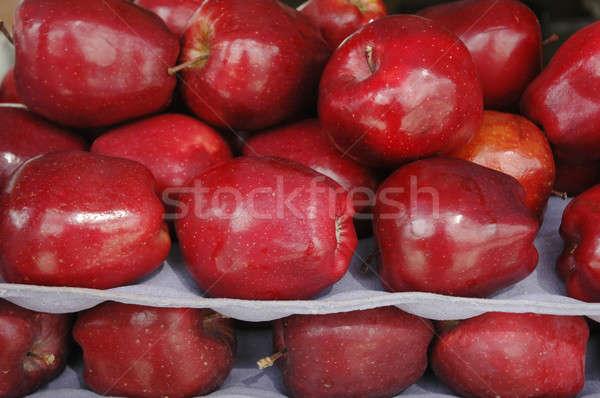 stack of red apple Stock photo © antonihalim