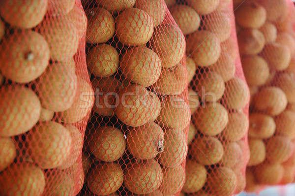 フルーツ 市場 皮膚 アジア 熱帯 バスケット ストックフォト © antonihalim