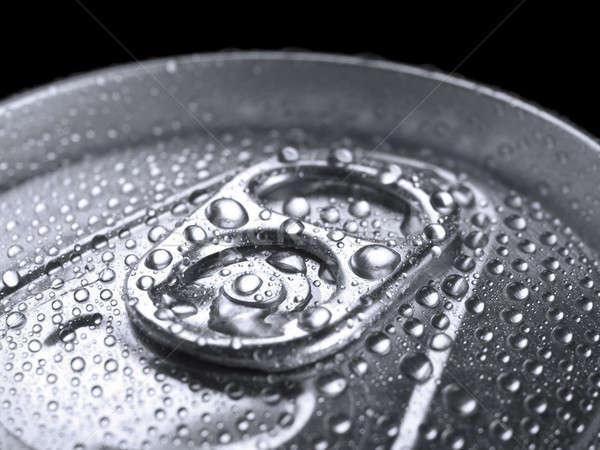 Bebida fria tiro anel Foto stock © antonprado