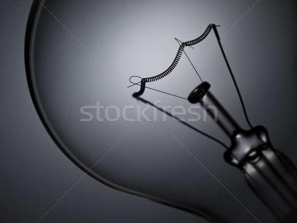 Сток-фото: лампа · свет · прозрачный