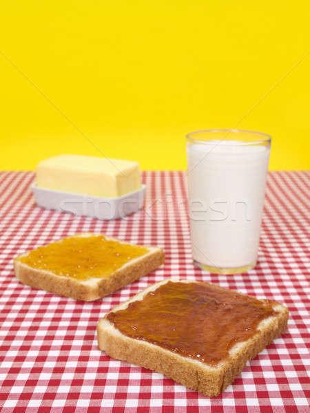 Quick breakfast Stock photo © antonprado