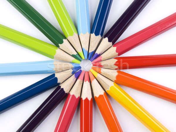 Pencil circle Stock photo © antonprado