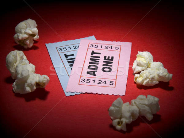 Movie stub Stock photo © antonprado