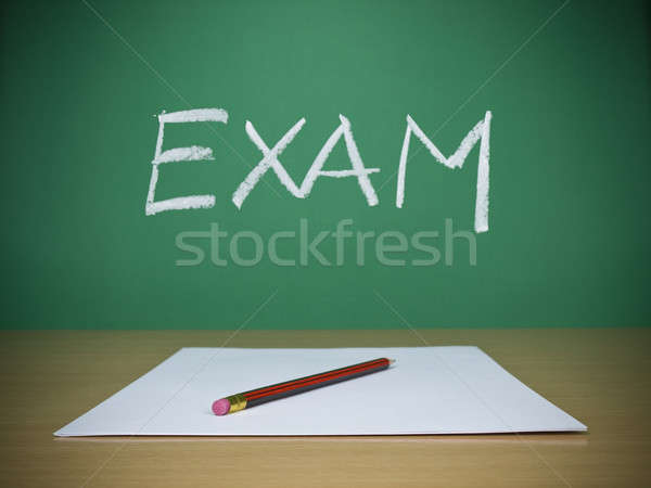 Exam Stock photo © antonprado