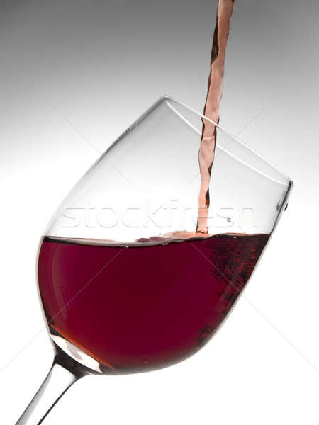 Glass of wine Stock photo © antonprado