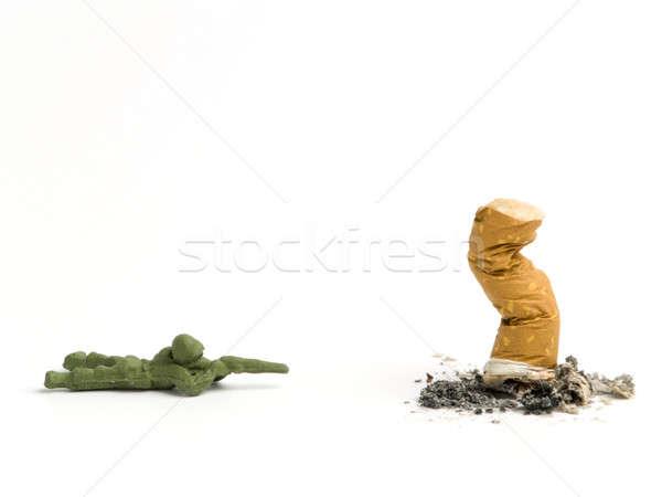Cigarette Stock photo © antonprado