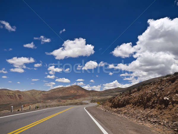 Curves ahead Stock photo © antonprado