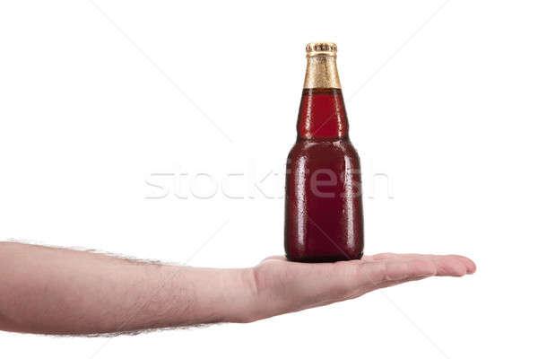 Here is the beer Stock photo © antonprado