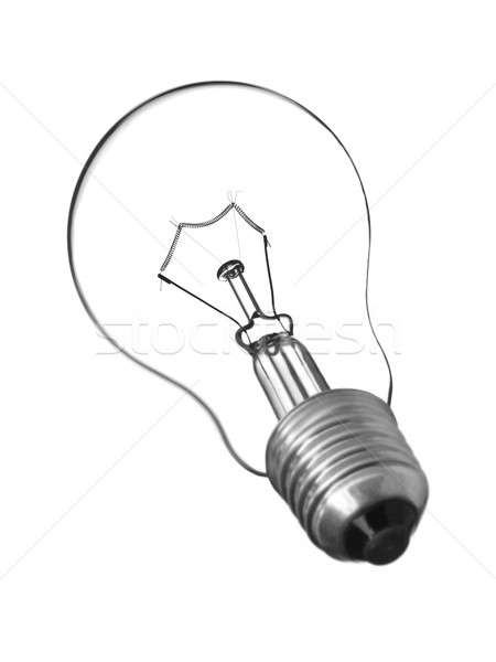 Stok fotoğraf: Yalıtılmış · ampul · ışık · şeffaf · ampul · beyaz