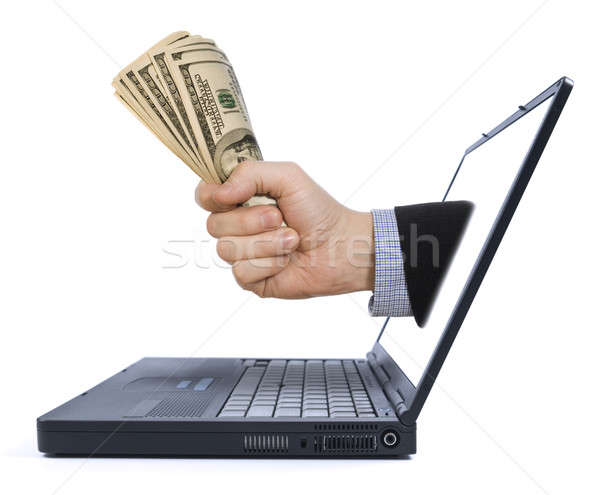 Stock photo: Make money from home