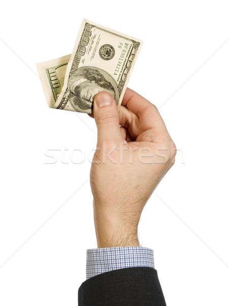 Stock photo: Show me the money