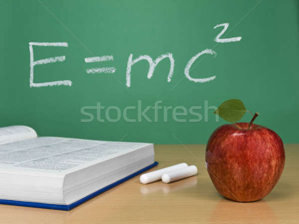 E=mc2 Stock photo © antonprado
