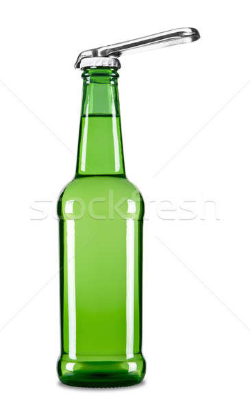 Stock photo: Open the beer