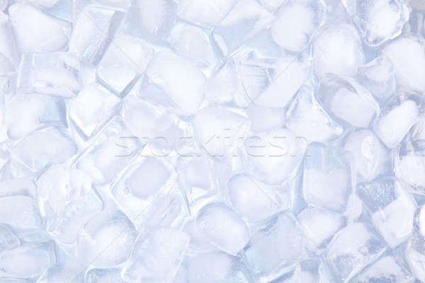 Stock photo: Ice cubes backgound