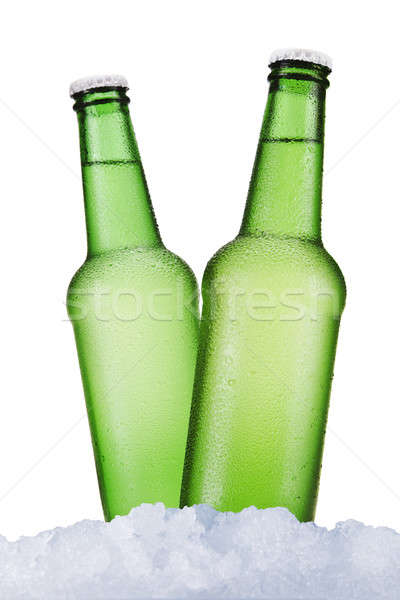 Stock photo: Two beers