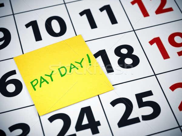 Pay day Stock photo © antonprado