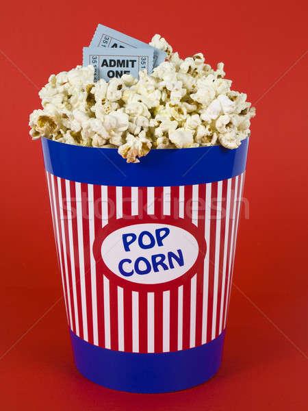 Popcorn and movies Stock photo © antonprado